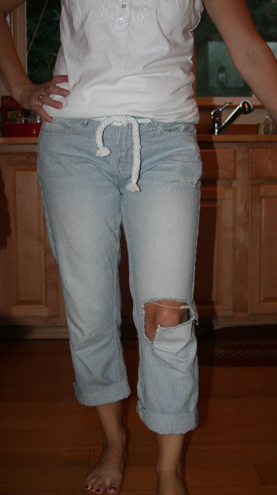 Holy Holey Jeans ~ Mindy Peltier
