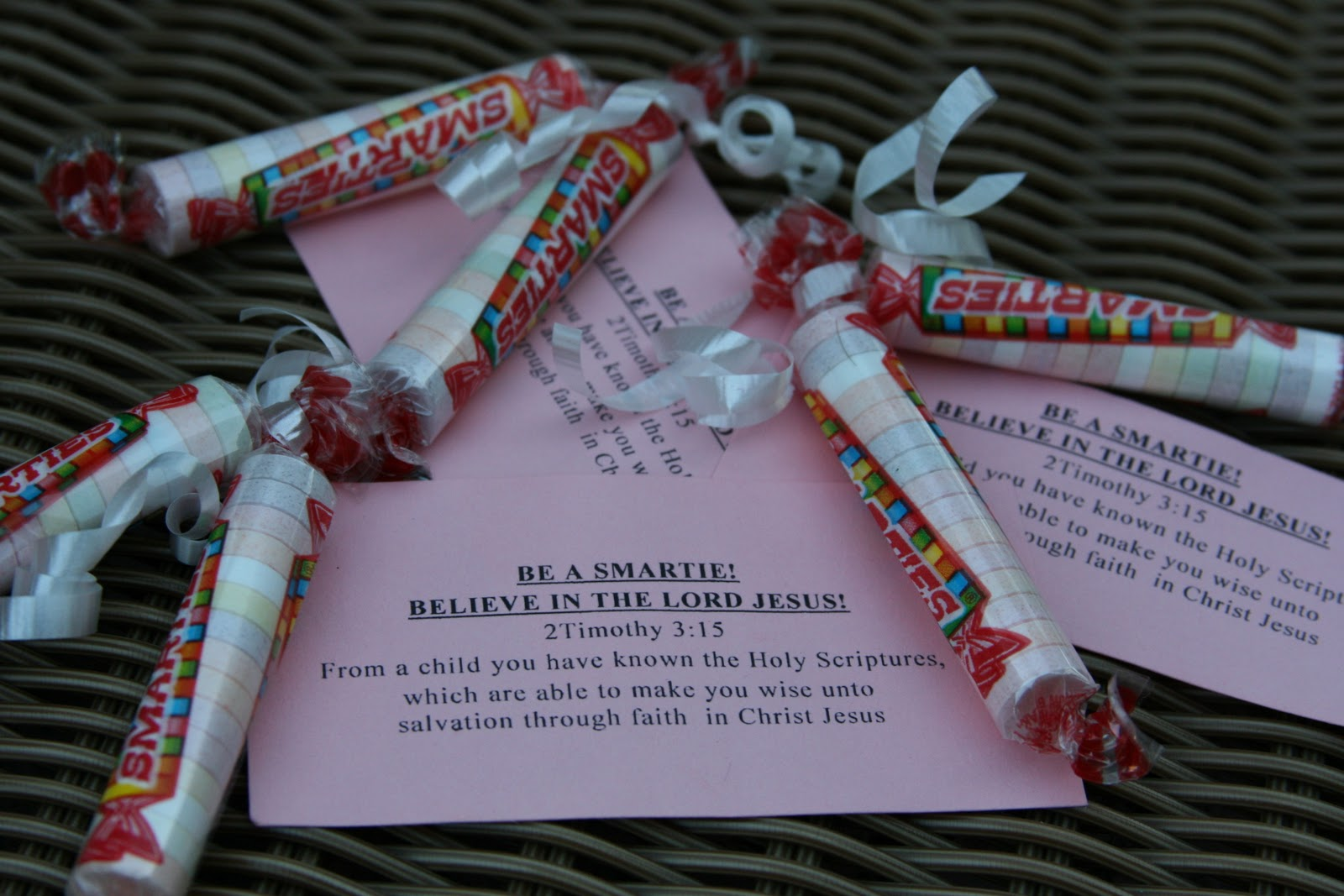 Vacation bible school crafts ideas - Wrapping Box After Box Of Nerds Can Be Challenging Tying Tiny Bows Can Drive You Crazy But They Sweetly Illustrate The Gospel Verse Ephesians 2 8