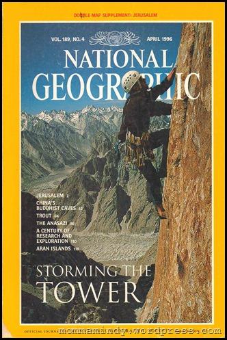 Jerusalem  NG April 1996