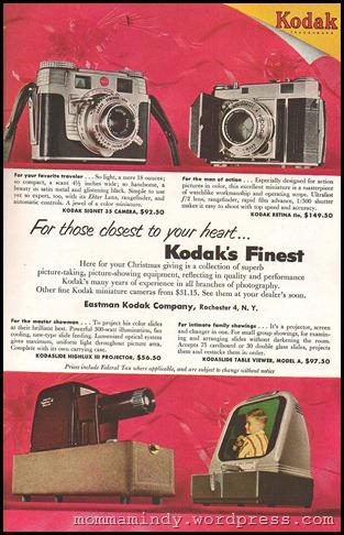 Kodak Ad 1953
