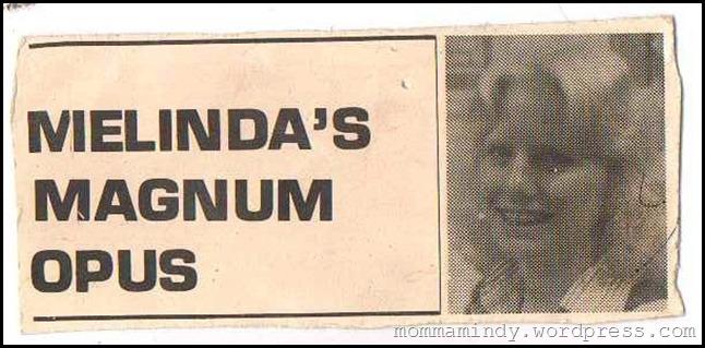 Melindas Magnum Opus 4