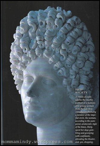 Roman Woman bust