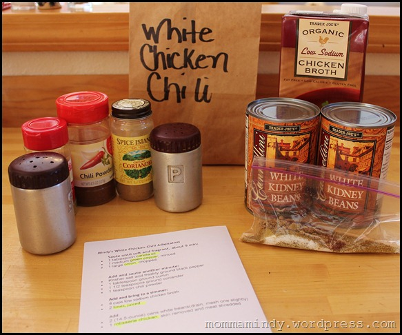 White Chicken Chili Bag