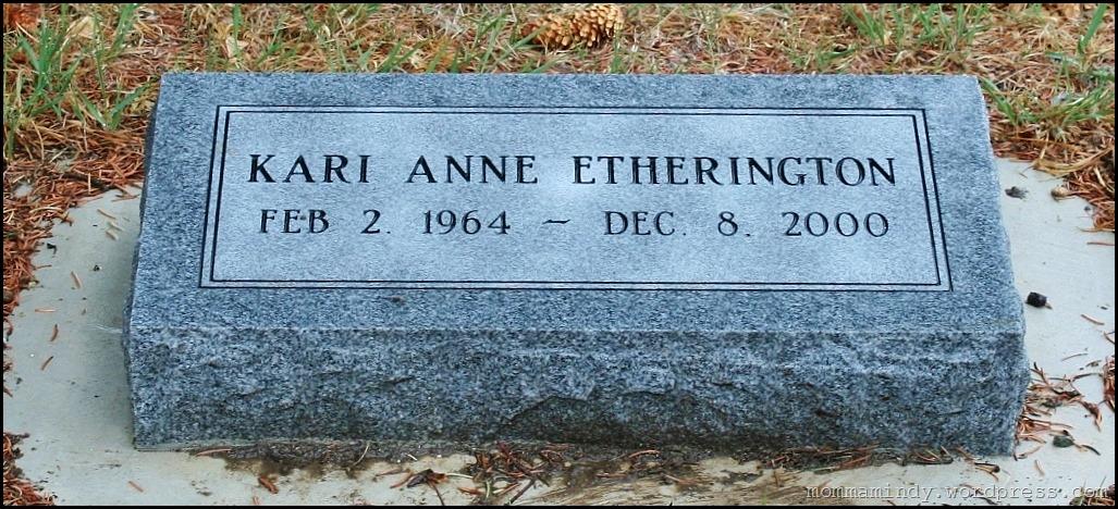 Kari's grave
